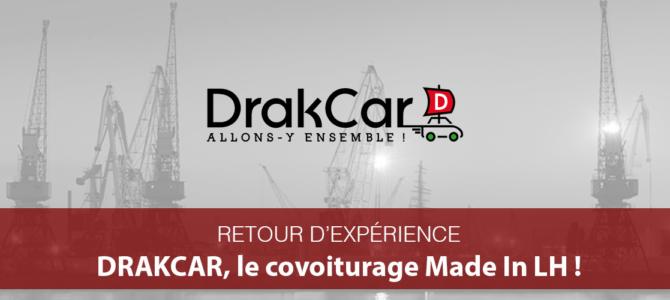 Retour d'Expérience– DRAKCAR, le covoiturage utile Made In Le Havre!