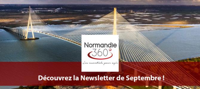 Newsletter Normandie 360° : Les Essentiels de Septembre 2017