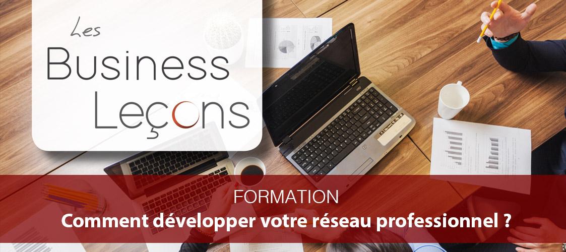 Business Leçon by Actions et Territoires : développer son réseau professionnel